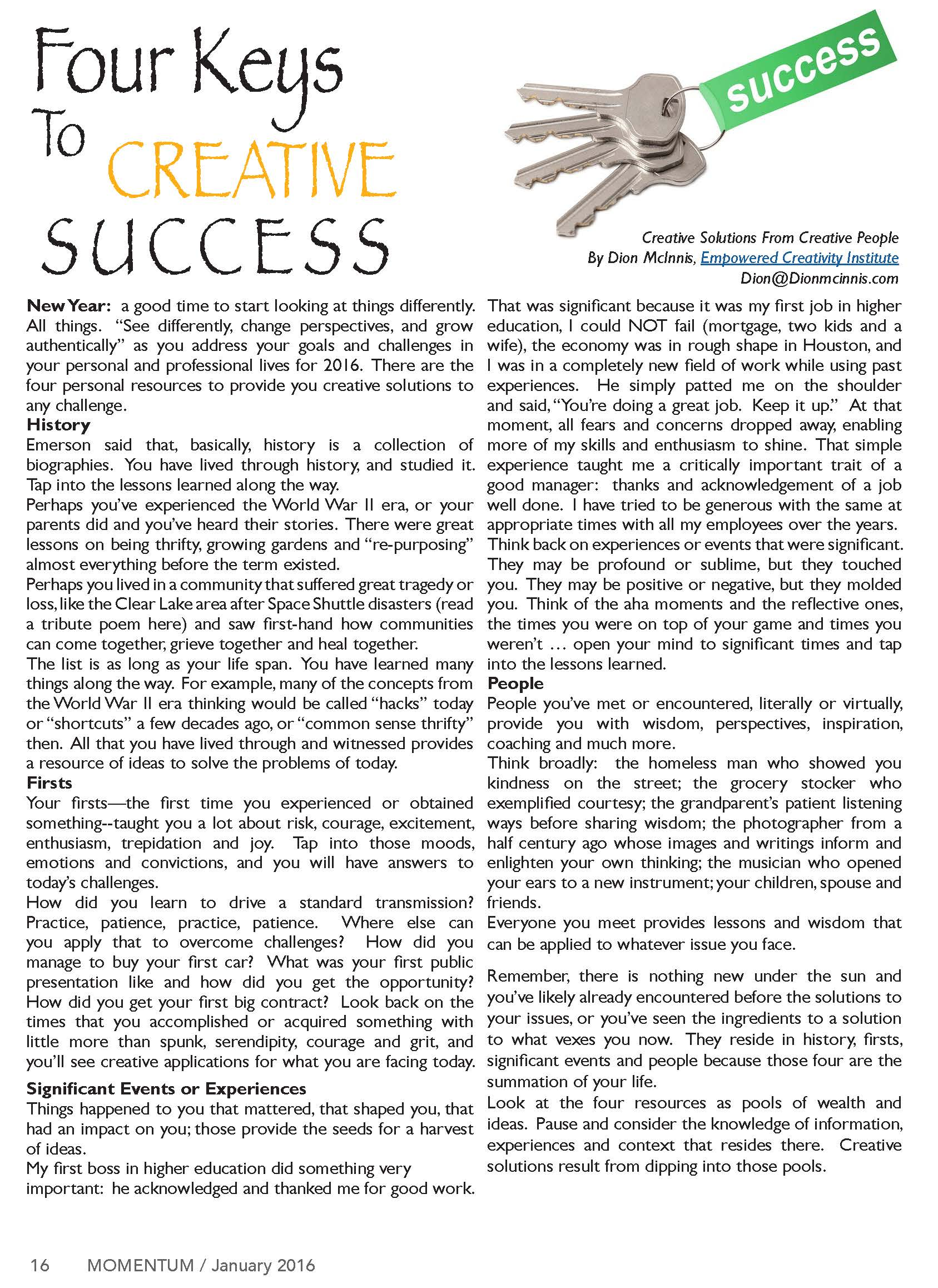 Momentum - Business to Business Online Magazine (1) 16